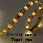 Imtra Standard Output LED Tape Light Strip | 12v/24v, 4-16 ft. Tape Light